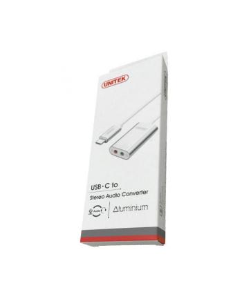 Unitek Karta dźwiękowa USB TYP-C; STEREO; Y-248