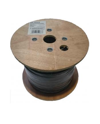 Digitus kabel U/UTP, drut kat.5E, PE zewnętrzny, 305m wypełniony  żelem