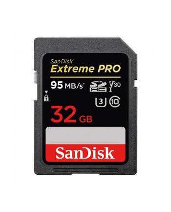 SanDisk SecureDigital SDHC Extreme Pro (95 MB/s class 10 UHS-I U3 V30) - 32GB