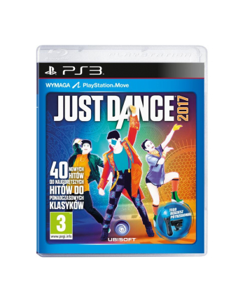 UBISOFT Gra JUST DANCE 2017 (PS3)