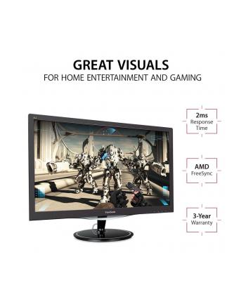 Monitor 27'' Viewsonic VX2757-MHD, 68,58 cm  FreeSync - DP, HDMI, VG
