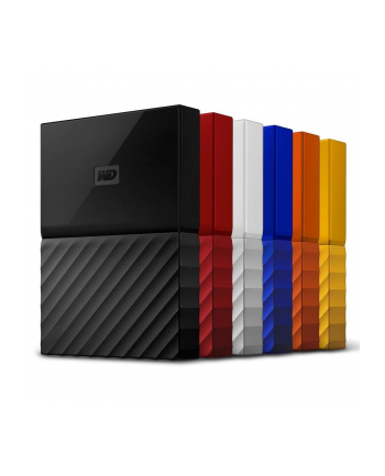 Western Digital Dysk twardy HDD EXT My Pass 3TB Orange WorldWide