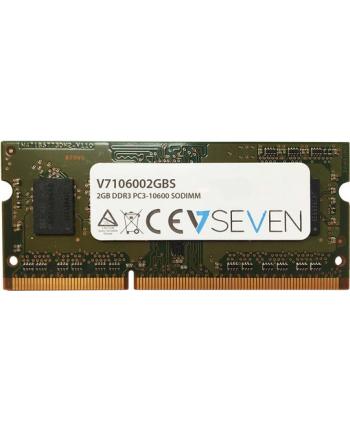 V7 2GB DDR3 1333MHZ CL9 SO DIMM PC3-10600