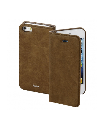 HAMA ''Guard Case'' BOOKLET GSM DLA Apple iPhone 5/5s/SE, BRĄZOWY