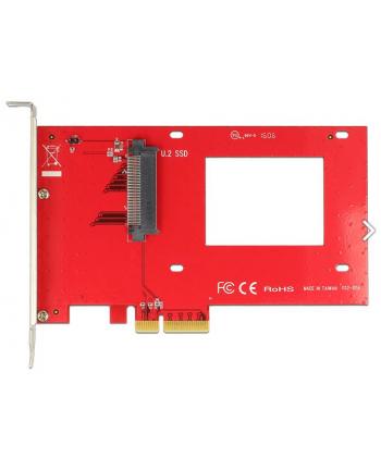 KARTA PCI EXPRESS->U.2 NVME SFF-8639 DELOCK