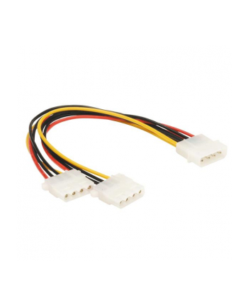 SAVIO AK-09 Power Cable adapter MOLEX 1X2  0,18m