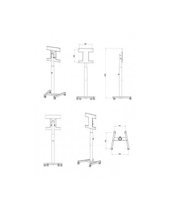 NewStar Smartkapp stojak/wózek - 42''