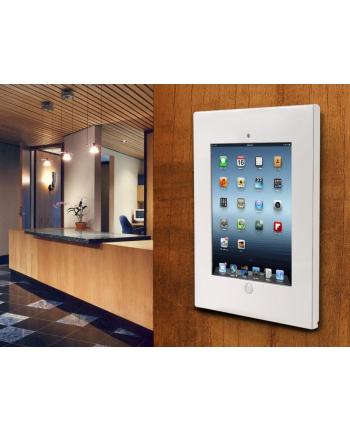 Maclean MC-676 Uchwyt uniwersalny reklamowy do iPad 2/3/4/Air/Air2 biały