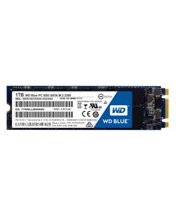 Western Digital Dysk WD Blue SSD, M.2 SATA, 1TB, SATA/600