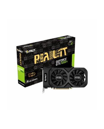 Palit XpertVision Palit GeForce GTX 1050Ti 4GB Dual OC, DP+HDMI+Dual-link DVI