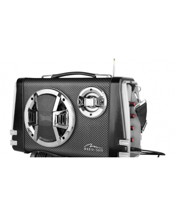 Media-Tech KARAOKE BOOMBOX BT - Kompaktowy głośnik Bluetooth stereo z wbudowanym wooferem