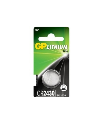 Bateria guzikowa litowa GP Batteries CR2430-U1 3.0V | blister 1 szt.