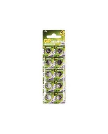 Bateria zegarkowa alkaliczna GP Batteries A76F-U10 AG13 |LR44|1.5V|blister 10 sz