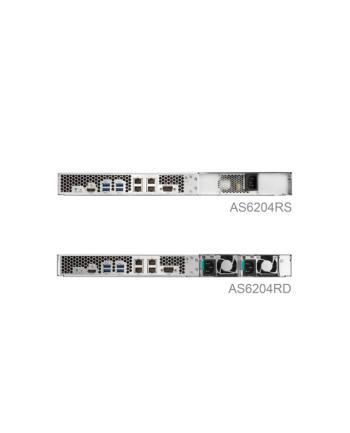 Asustor AS6204RS sieciowy serwer plikow NAS 1U Rack, 4-dyskowy