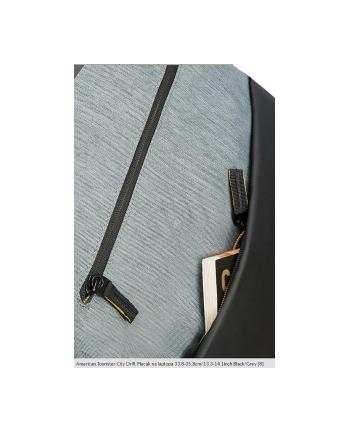 Plecak AT by SAMSONITE 28G09001 CD 13,3-14,1'' komp, dok, tblt, kiesz, czar/szar