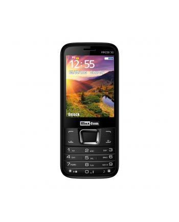 MaxCom MM238, Telefon Komórkowy 3G, Czarny