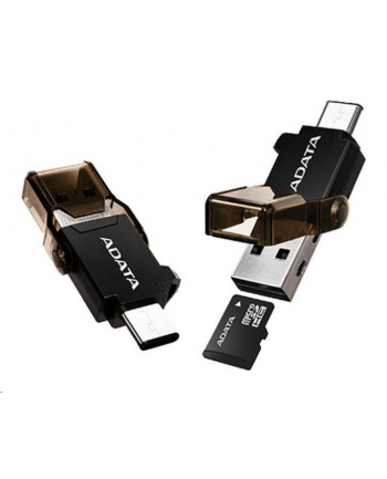 USB-C - USB-A OTG MicroSD Reader
