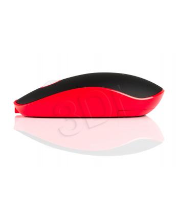 MODECOM Bezprzewodowa Mysz Optyczna WRM113 Czerwono-Czarna