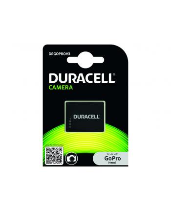 Duracell Akumulator GoPro Hero 3 3.7V 1000mAh