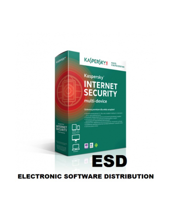 ESD Kaspersky IS 2016 1Desktop 1Y