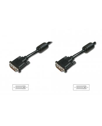 ASSMANN Kabel połączeniowy DVI-D DualLink Typ DVI-D (24+1)/DVI-D (24+1) M/M czarny 3m