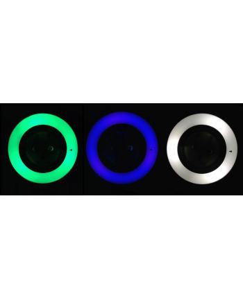 Maclean Lampka nocna z czujnikiem zmierzchu 3LED z gniazdem 230V MCE122 3 kolory