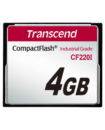 Transcend CF Card 4GB 40/42 MB/s CF220I