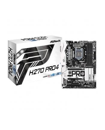 ASRock H270 Pro4 s1151 Z270 4DDR4 USB3.0/3xM.2 ATX