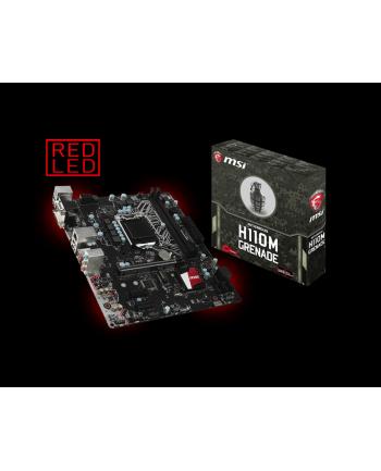 MSI H110M GRENADE s1151 H110 2DDR4 USB3.1 uATX