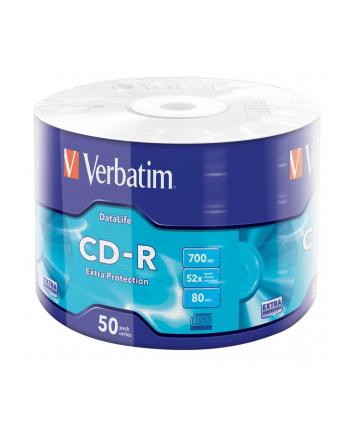 Verbatim CD-R 52x 700MB 50P SP Extra Protection Wrap 43787