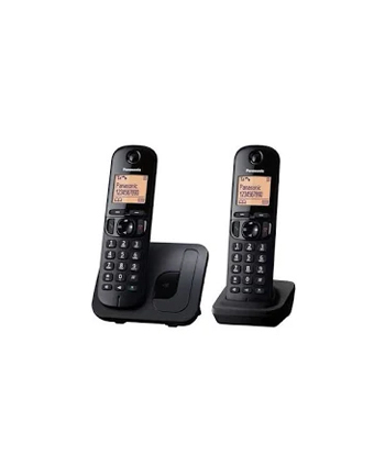 Panasonic KX-TGC212 Dect Black+ dodatkowa słuchawka