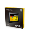 Adata SU900 SSD SATA 6GB/s  2.5'' 512GB, read/write 560/525MB/s, 3D MLC - nr 17