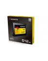 Adata SU900 SSD SATA 6GB/s  2.5'' 512GB, read/write 560/525MB/s, 3D MLC - nr 6