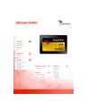 Adata SU900 SSD SATA 6GB/s  2.5'' 512GB, read/write 560/525MB/s, 3D MLC - nr 7