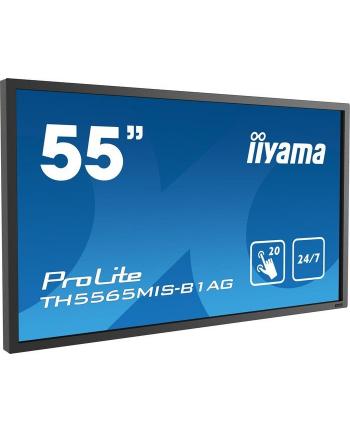 Monitor Iiyama TE5565MIS-B1AG 55inch, IPS multitouch, Full HD, DVI, HDMI, DP, sp