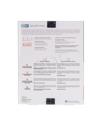 ESET Security Pack 1+1 BOX 1U 12M