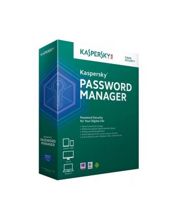 Kaspersky Lab Kaspersky Password Manager 1U-2Y ESD