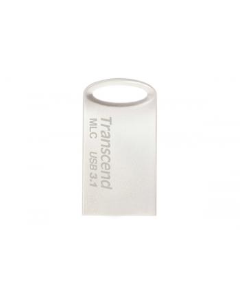 TRANSCEND USB Flash Disk JetFlash®720S, 16GB, USB 3.1, Silver (R/W 130/25 MB/s) MLC solution