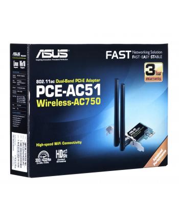 Asus PCE-AC51 Wireless 802.11ac Dual-band PCI-E card