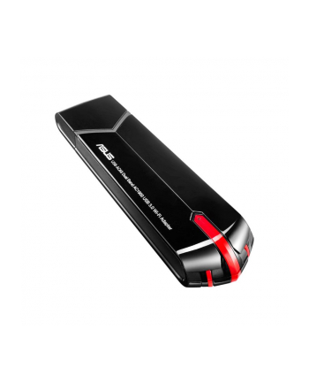 Asus USB-AC68 AC1900 Dual-band USB client card 802.11ac, 1300/600Mbps (3T3R)