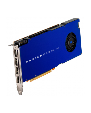 Karta graficzna AMD Radeon Pro WX7100 PCI-E 8GB 4xDP Retail