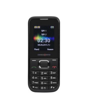 DORO Swisstone SC230 Dual SIM, czarny
