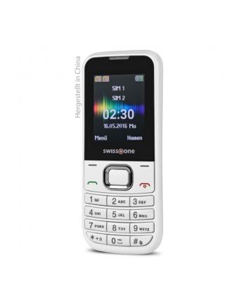 DORO Swisstone SC230 Dual SIM, biały