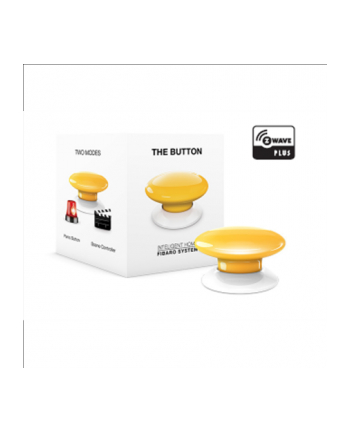 Fibaro The Button - yellow