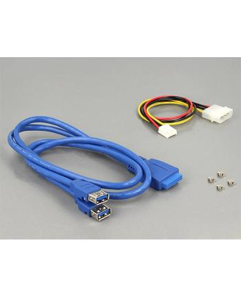 DeLOCK USB 3.0 Card Reader 5 Slot + 4 Port USB 3.0 Hub - 5.25