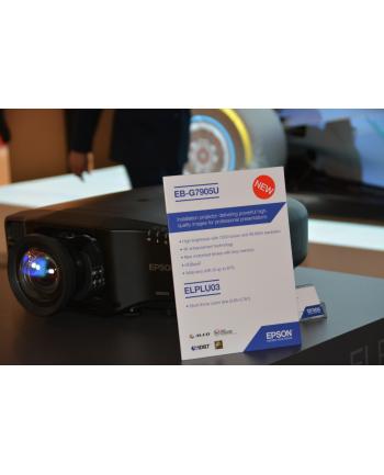 Epson EB-G7905U black WUXGA LCD Projector