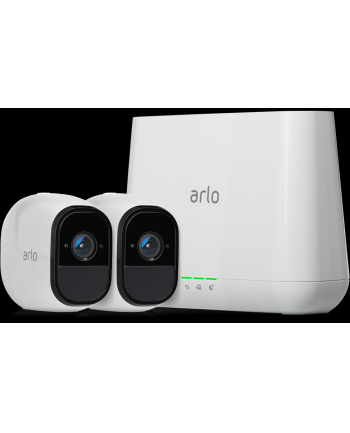 Netgear VMS4230 Arlo Pro Smart Security System with 2 Cameras
