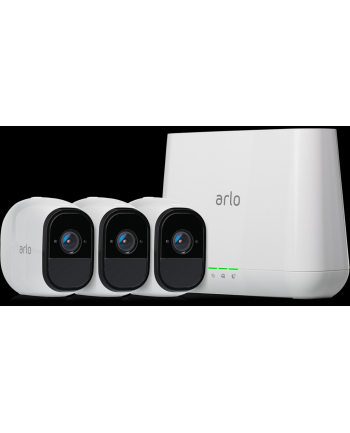 Netgear VMS4330 Arlo Pro Smart Security System with 3 Cameras