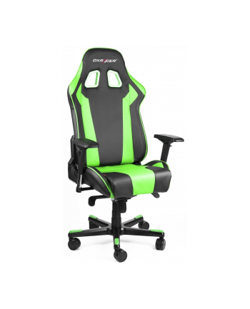 DXRacer King Gaming Chair - Black/Green - OH/KS06/NE