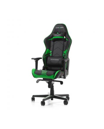 DXRacer Racing Pro Series fotel gamingowy, czarny/biały/zielony (OH/RH110/NWE)